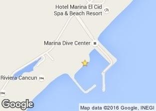 Nado con delfines en puerto morelos Mapa - Delphinus